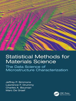 cover image of Statistical Methods for Materials Science